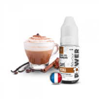 e-liquide Café Moka 50/50 de Flavour Power - 10ml